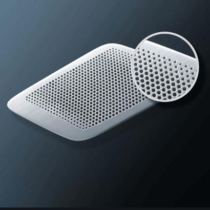 custom etched speaker grilles