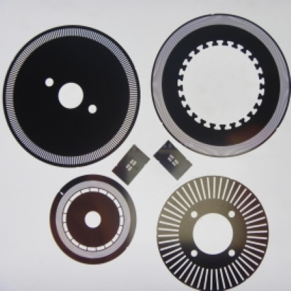photo etching encoder disk